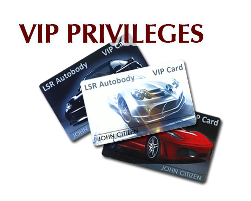 LSR Autobody VIP Program